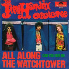 """"""" This Week in 1968 """"All along the Watchtower"""" by the Jimi Hendrix Experience enters the US Charts. This Classic was written by Bob Dylan, it was their UK Hit & their US Pop Hit, it appeared on their Studio Album, the Classic Electric Ladyland. Rock And Roll, Rock & Pop, Jimi Hendrix Experience, Forrest Gump, Cover Songs, Lps, Pop Hits, Best Song Ever, Music Charts"""