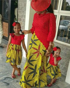 The most beautiful African family ankara styles to rock to all occasions, these are trending ankara styles collections for you and your family Latest African Fashion Dresses, African Inspired Fashion, African Print Dresses, African Print Fashion, African Dress, Ankara Fashion, African Attire, African Wear, African Women