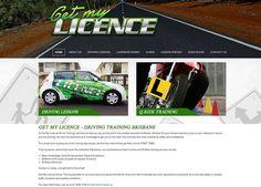 Get My Licence Web Site by Scorched Media - www. scorchedmedia.com.au Brisbane, Road Rules, Portfolio Web Design, Train, Strollers