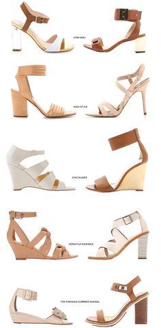 Parisian Summer Sandals | Damsel in Dior