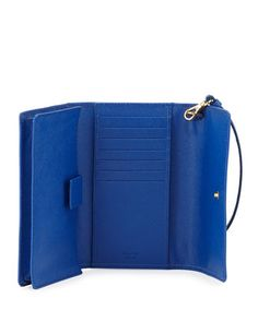 Prada Saffiano Phone Wallet, Royal Blue (Royal) Prada Wallet, Women's Wallets, Prada Saffiano, Phone Wallet, Wallets For Women, Royal Blue, Pocket, Leather, Bags