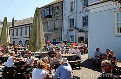 Falmouth, England: Customs House Quay by Lee Snider, via Dreamstime