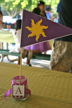 """Photo 6 of 28: Disney Tangled / Birthday """"Tangled Garden Party"""" 