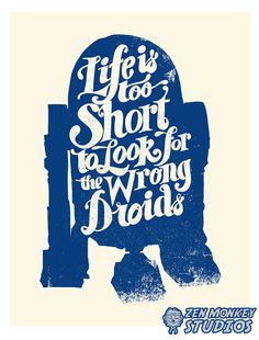 Life Is Too Short - Created by Zerobriant This print is on sale right now for only $10, available at Zen Monkey Studios. Check it out here.