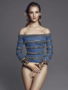Rosie Huntington a Vamp oldalain csábít el! #fashionfave #fashion #rosie #rosiehuntington #victoriassecret #model #Vamp #magazine