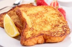 French toast doesn''t just have to be a sometimes food with this lightened-up version! This recipe eliminates the fat while keeping the flavor and texture you crave.