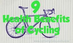 A bike ride is an excellent way to burn off some calories and a great way to supplement an active lifestyle. (source: http://www.lifestylemunch.com/get-on-your-bike-9-health-benefits-of-cycling/)