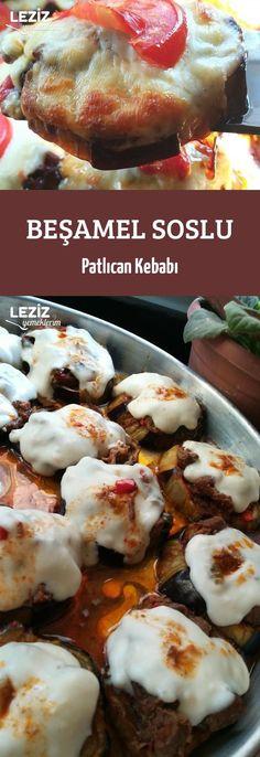 Beşamel Soslu Patlıcan Kebabı
