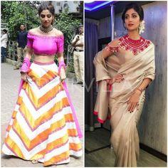 Yay or Nay : Shilpa Shetty in Priyal Prakash and Manish Malhotra