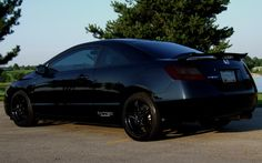 Honda Civic SI blacked out