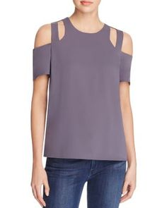 1101b6cba1efdc Cooper   Ella Padma Cold Shoulder Top Women - Tops - Bloomingdale s