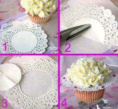 ruffled cupcake wrapper tutorial
