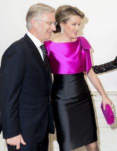Ambas soberanas protagonizaron otro despliegue de 'glamour' en un nuevo encuentro oficial