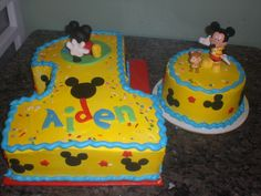 mickey+mouse+1st+bday+cake | Mickey Mouse Clubhouse 1st birthday