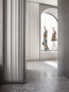 minimal interior David Chipperfield Architects – Valentino Rome Flagship Store