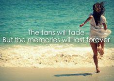 Beach memories quote via Carol's Country Sunshine on Facebook