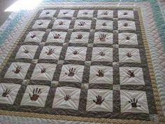 Best quilts handprint school images quilt pattern quilt