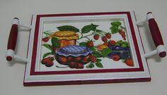 Tabuleiro Frutos Vermelhos