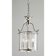 Indoor 3-light Antique Nickel Chandelier