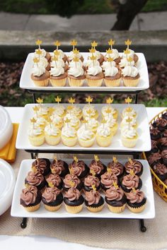 """""""Where the Wild Things Are"""" mini cupcakes."""