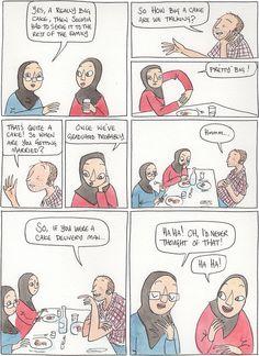 It's a real conversation I had while I was at FIBDA in Algeria that really tickled me. Berry, Dan, Comics, Bury, Cartoons, Comic, Comics And Cartoons, Comic Books, Comic Book