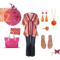 Fuscia & Tangerine