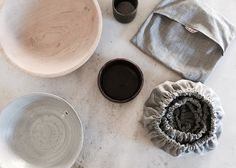 products for a low waste lifestyle including this set of bowl covers.
