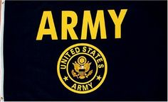 US Army Flag 3x5 NEW U S Military Gold w Crest Garden Lawn Supply Maintenance >>> Read more at the image link.