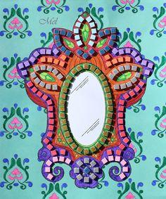 Mes mandalas - Illustrations de Stéphanie Rousseau ♥ Les éditions Gründ Jeunesse nous proposent de magnifiques coloriages…