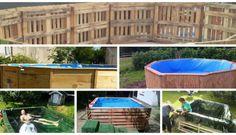 6 propuestas para hacer tu piscina con palets