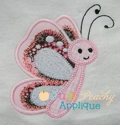 Butterfly Applique Design