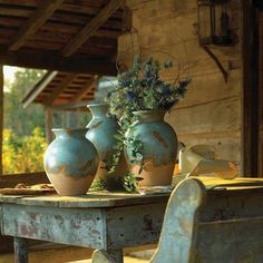 i-want-to-go-there-cottage:  Beautiful blue tones  Beautiful!!!!