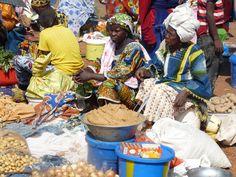 Marché en Guinée Conakry