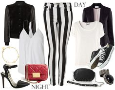 Day & Night - Striped pants