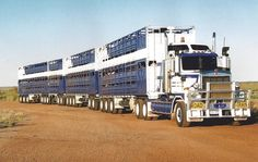 australia's biggest truck - truckingworldwide: kenworth custom road train love affair with ...