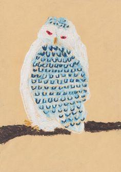 Owl by Japanese Artist Machiko Kaede