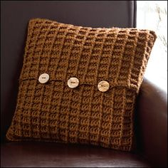 Ravelry: Harvest Home Pillow pattern by Carrie Carpenter