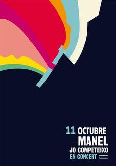 Actuació del grup Manel, al Teatre Tívoli (Barcelona). 11 d'octubre 2016