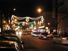 Steinway Street  in Astoria, NY at Christmas.  Brings back so many memories from my childhood!!