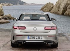 mercedes-benz e-class cabriolet a striking front section, LED high performance headlamps, a drawn-out bonnet with powerdomes and retractable side windows underline the dynamic looks of the cabriolet.