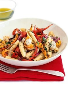 Pasta With Grilled Vegetables And Feta (great for gastric bypass ...