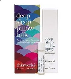 This Works Deep Sleep Pillow Talk Christmas Edition by This Works, www.amazon.co.uk/... This is perfect for those who have trouble sleeping, this actually works! I've tried a sample it got me through the whole night!!