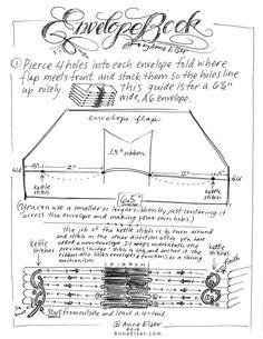 Anne Elser: Envelope Book Instructions