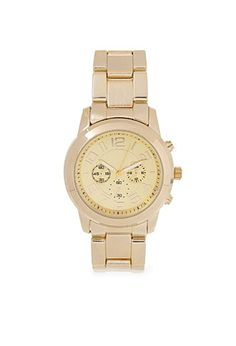 Menswear-Inspired Chronograph Watch | Forever 21 - 1000105125