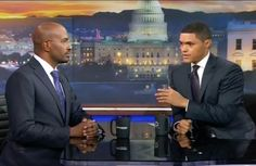 I like to say thank you Susan. She told me all about this very powerful interview. I just hope everybody watch this with an open mind and heart. Now I have to be honest it took me a minute. For what Van Jones was saying to be able to do. But I have great respect for Van Jones and Trevor Noah they are two very smart brother. But Van Jones said some very powerful things that once they sunk in and I truly understood them. I was like you know what he has a very good point. It is hard for us to…