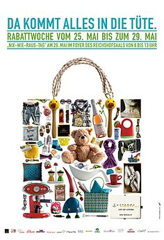 Ortsmarketing Lustenau Plakate | Design: zurgams Plakat Design, Marketing, Communication