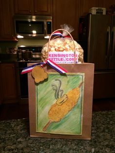 Kensington Kettle corn gift bag