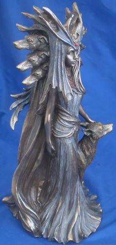 Hecate Goddess of Witchcraft | Hekate (or Hecate) Greek Goddess Ornament Statue Figurine BNIB | eBay