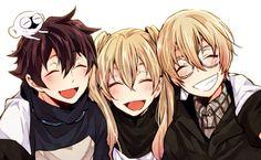 Leo, White, and Black  Kekkai Sensen