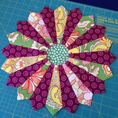 """Wendy's Quilts and More on Instagram: """"My first #dresdenplate for #capitalquiltersbom is almost finished. I've got 2 more cut out. #capitalquilters #sundaysewing #denyseschmidt"""" Dresden Plate Quilts, Quilting Designs, Quilt Blocks, Quilt Patterns, Projects To Try, It Is Finished, Shapes, Couture, Sewing"""